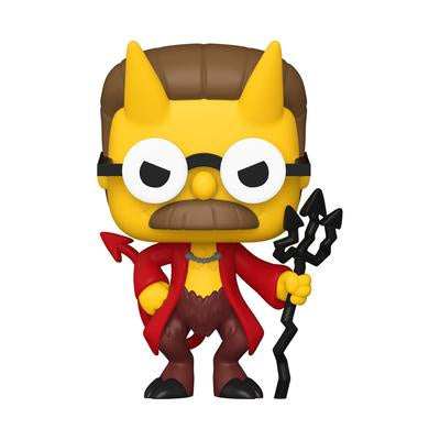 Pop! Animation DEVIL FLANDERS (Simpsons Treehouse of Horror)(Available for Pre-Order)