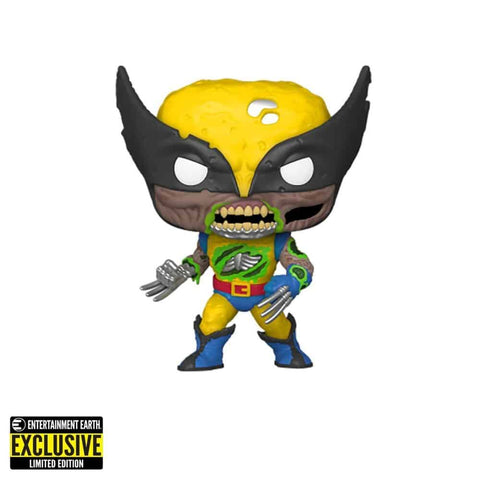 Pop! Marvel ZOMBIE WOLVERINE Glow (Entertainment Earth Exclusive)