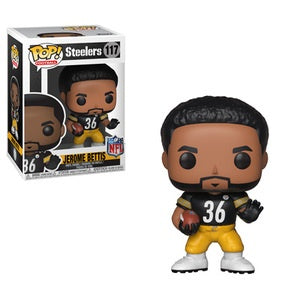 Funko Pop! NFL #117 JEROME BETTIS (Pittsburgh Steelers) - Brads Toys