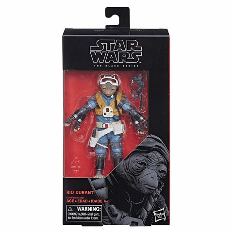 "Star Wars The Black Series 6"" RIO DURANT (Solo) - Brads Toys"