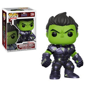 Funko Pop! Games #336 AMADEUS CHO as Hulk (Marvel Future Fight) - Brads Toys