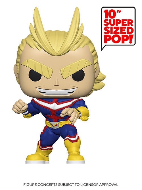 "Pop! Animation 10"" ALL MIGHT (Available for Pre-Order) - Brads Toys"