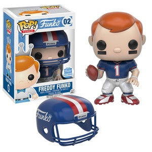 Funko Pop! Funko #02 FREDDY FUNKO Football Funko Shop Exclusive - Brads Toys