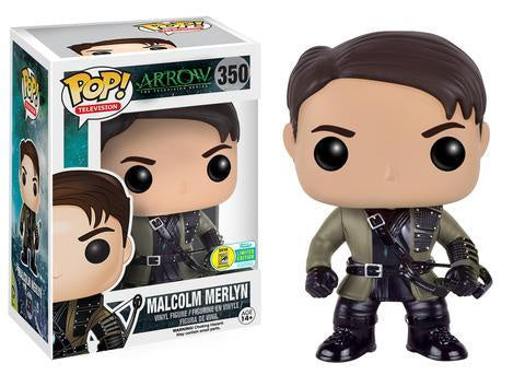 Funko Pop! Television #350 MALCOLM MERLYN 2016 Summer Convention Exclusive - Brads Toys
