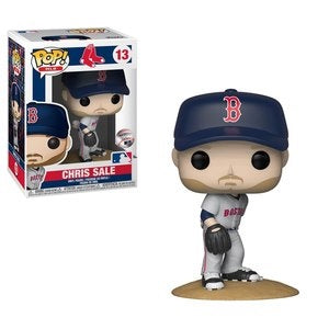 Funko Pop! MLB #13 CHRIS SALE Away Jersey (Red Sox) - Brads Toys
