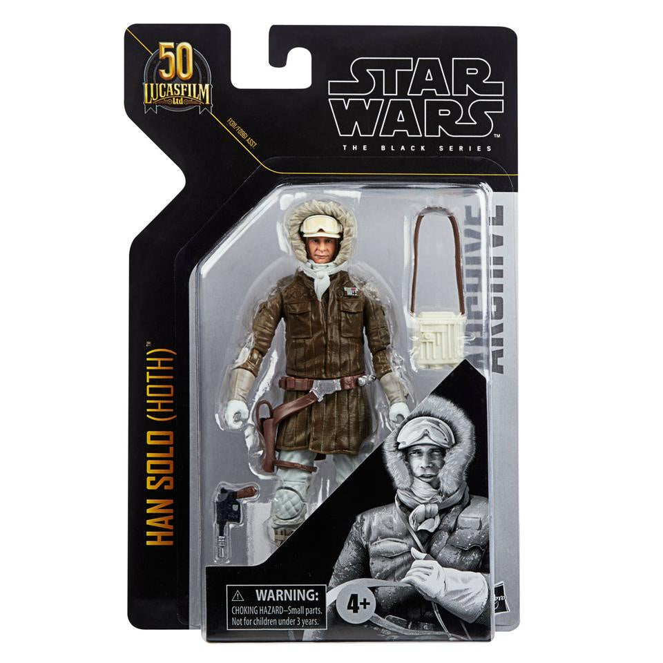 HSF0961A Star Wars The Black Series Archive Action Figures Wave 1 HAN SOLO (HOTH)