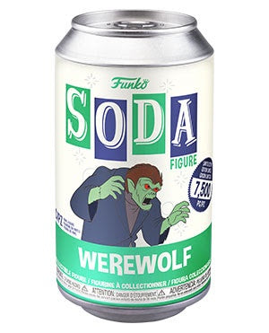 Vinyl Soda WEREWOLF w/Glow Chase (Scooby-Doo)(Available for Pre-Order)