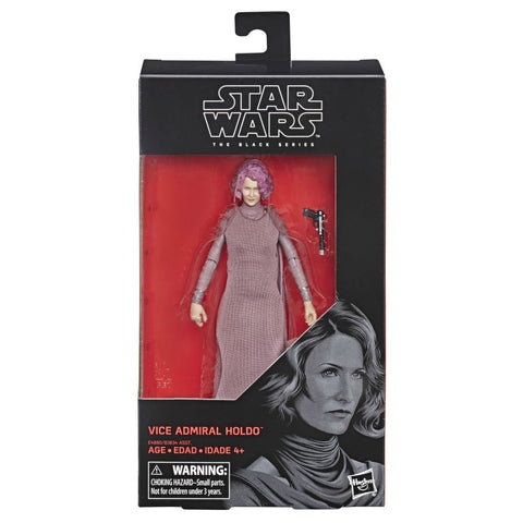 "Star Wars The Black Series 6"" VICE ADMIRAL HOLDO (The Last Jedi) - Brads Toys"