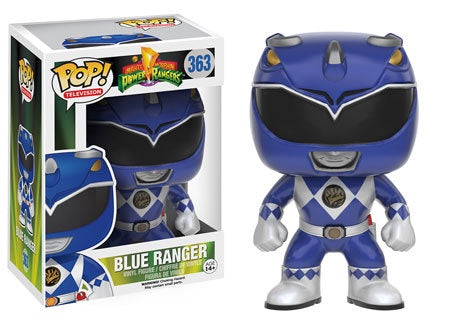 Funko Pop! Television #363 BLUE RANGER (Mighty Morphin Power Rangers) - Brads Toys