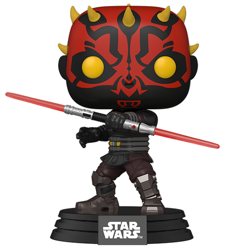 Pop! Star Wars DARTH MAUL (Clone Wars)(Available for Pre-Order)