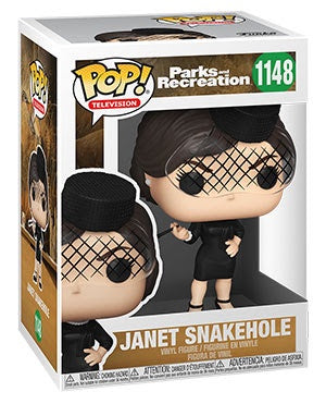 Pop! TV JANET SNAKEHOLE (Parks & Rec)(Available for Pre-Order)