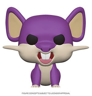 Pop! Games RATTATA (Pokemon S3)(Available for Pre-Order) - Brads Toys