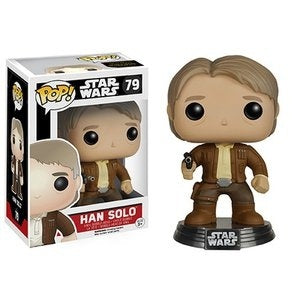 Funko Pop! Star Wars #79 HAN SOLO (The Force Awakens) - Brads Toys