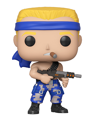 Funko Pop! Games BILL (Contra)(Available for Pre-Order) - Brads Toys