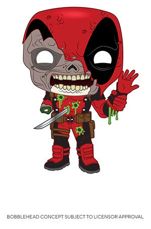 Pop! Marvel ZOMBIES DEADPOOL (Available for Pre-Order)