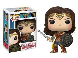 Funko Pop! Heroes #172 WONDER WOMAN with Sword - Brads Toys