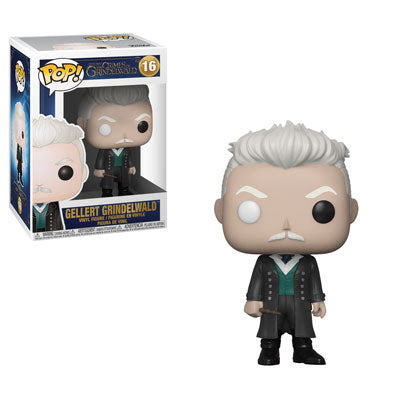 Funko Pop! Fantastic Beasts #16 GELLERT GRINDELWALD (The Crimes of Grindelwald) - Brads Toys