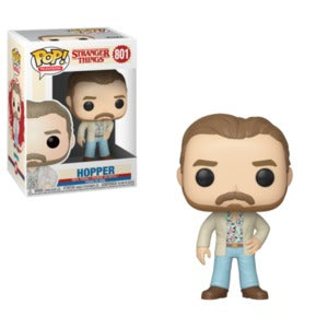Funko Pop! Television #801 HOPPER Date Night (Stranger Things) - Brads Toys