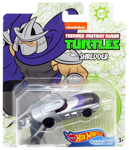 Hot Wheels Teenage Mutant Ninja Turtles Character Cars THE SHREDDER