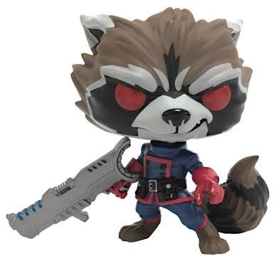 Funko Pop! Marvel Classic ROCKET RACCOON (Guardians of the Galaxy) Previews Exclusive - Brads Toys