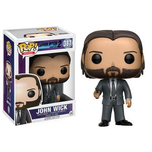 Funko Pop! Movies JOHN WICK  w/Chase Variant - Brads Toys