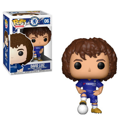 Funko Pop! Football DAVID LUIZ (Chelsea)(Soccer)(English Premiere League)(Available for Pre-Order) - Brads Toys