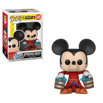 Funko Pop! Disney #426 APPRENTICE MICKEY (Mickey's 90th Anniversary)(Available for Pre-Order) - Brads Toys