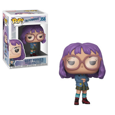 Funko Pop! Marvel #358 GERT YORKES (Runaways)(Available for Pre-Order) - Brads Toys