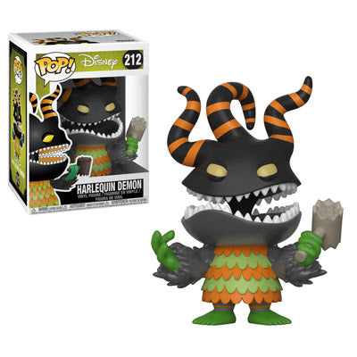 Funko Pop! Disney #212 HARLEQUIN DEMON (Nightmare Before Christmas) - Brads Toys