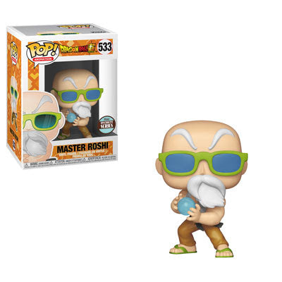 Funko Pop! Animation #533 MASTER ROSHI MAX POWER (Dragon Ball Super) Specialty Series - Brads Toys