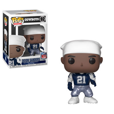 Funko Pop! NFL Legends DEION SANDERS Throwback (Dallas Cowboys)(Available for Pre-Order) - Brads Toys