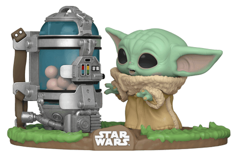 Pop! Star Wars #407 The Child With Egg Canister (the Mandalorian)