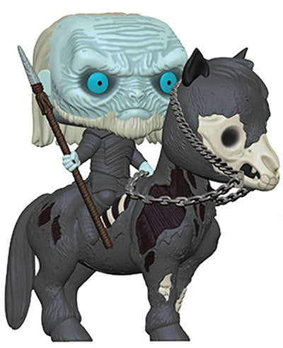 Funko Pop! Rides #60 WHITE WALKER on HORSE (Game of Thrones) - Brads Toys