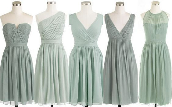 Mismatched Bridesmaid Dresses for Wedding 2016