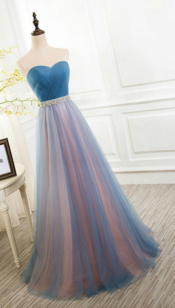 2017 Tulle Prom Dresses Wedding Party Dresses Graduation Party Dresses Formal Dresses