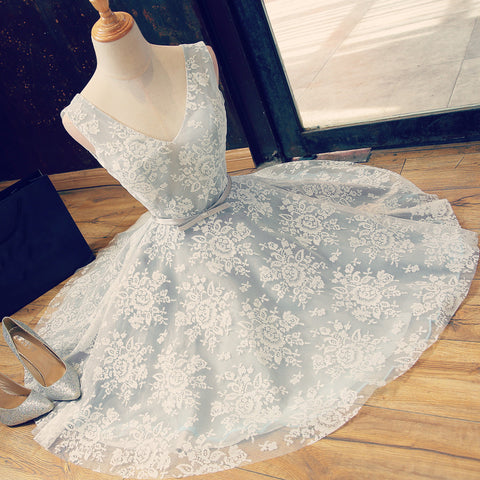 Lace Homecoming Dresses, Short Prom Dresses, Banquet Dresses