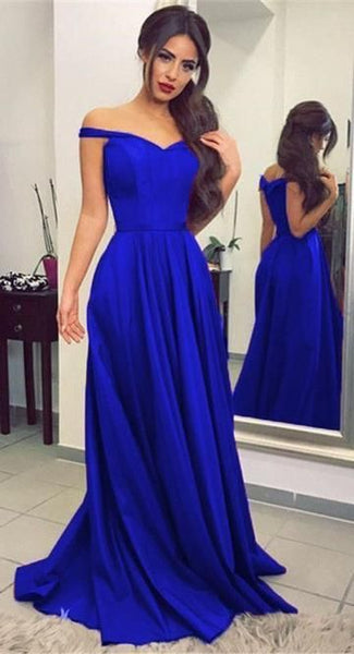 Mermaid Royal Blue Prom Dresses, Party Dresses, Banquet Dresses, Formal Gowns