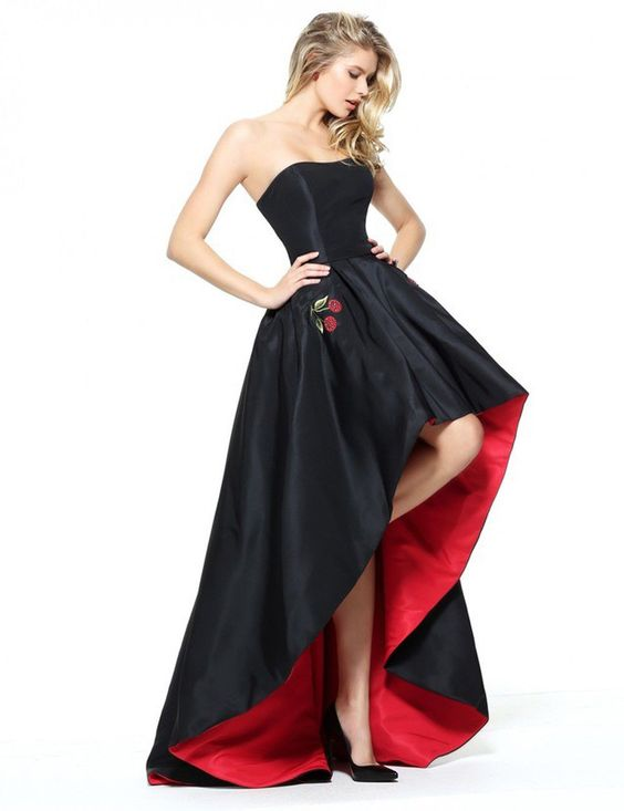 Strapless DarkProm Dresses Formal Gowns Wedding Party Dresses pst1800