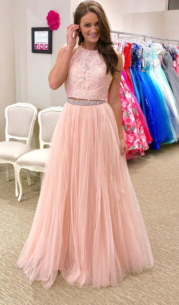 Two Pieces Prom Dress, Prom Dresses, Graduation Party Dresses, Formal Wear, Pageant Dress pst1767