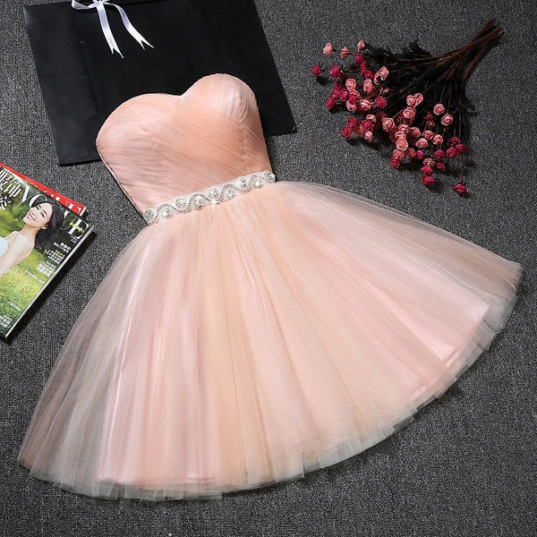 2017 Homecoming Dress, Short Prom Dresses For Teens pst1646