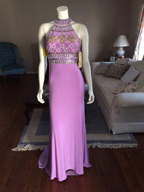 Sexy Beaded Prom Dresses, Halter Prom Dresses, Graduation Party Dresses, Formal Dresses, Keyhole Back