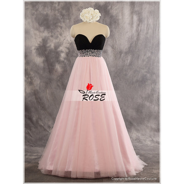 BBDressing Sweetheart Strapless Floor Length Evening Dresses With Beaded Waist Zipper Up Back Style bb0042
