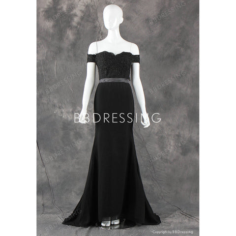 BBDressing Black Prom Dresses Evening Dresses Homecoming Dresses bb0004