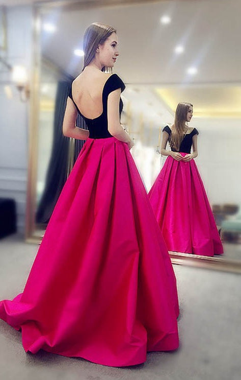 2018 Prom Dress Long Prom Dresses Graduation Party Dresses Formal Wear pst1727