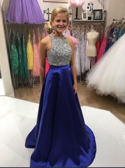 Royal Blue Prom Dress Long, Prom Dresses, Graduation Party Dresses, Formal Wear, Pageant Dress pst1752