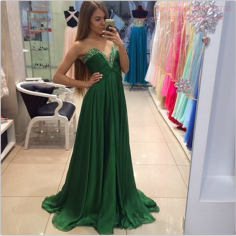 High waist green prom dresses, 2017 prom dress, dresses for prom, Long prom dress,