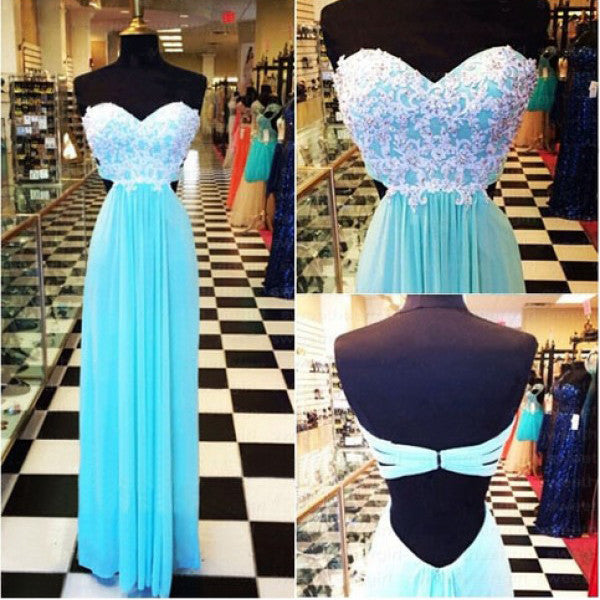 Sweetheart Neckline Prom Dress pst0452