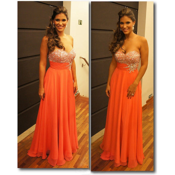 Strapless Dress For Prom Party pst0559