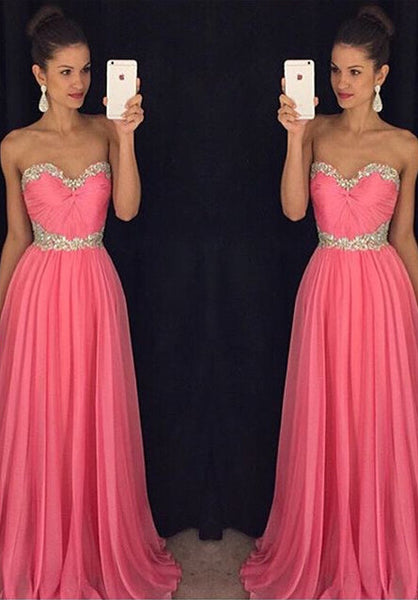 Long Dress For Prom Evening Party pst0637