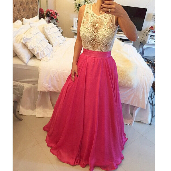 New Style Prom Dress With Removable Skirt pst0707